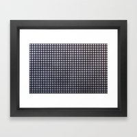 Monochrome Aura - Textur… Framed Art Print