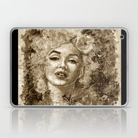 Blonde Bombshell - Sepia… Laptop & iPad Skin