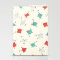 Tape Cats Stationery Cards