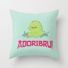 Adoribru! Throw Pillow