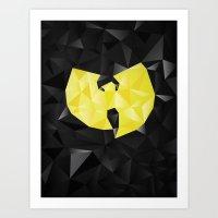 Wu-Tangle Art Print