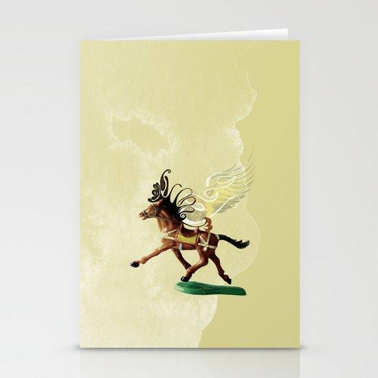 Wild horses  Stationery Card