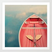 Floating On A Cloud Art Print