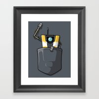 P0ck37 Framed Art Print