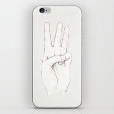 Three Threes iPhone & iPod Skin