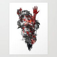 Technographic Art Print