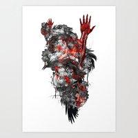 Technographic Art Print