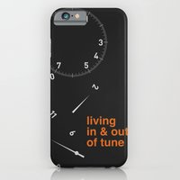 iPhone & iPod Case featuring living in & out of tune by Christina Kouli | ilprogetto