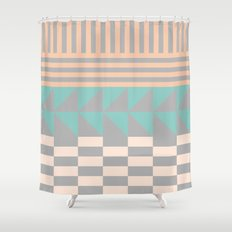 Opostos Shower Curtain