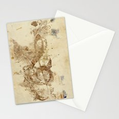 the golden key Stationery Cards