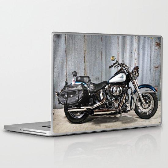Heritage Softail Laptop & iPad Skin