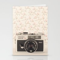 Film Camera (Retro and Vintage Still Life Photography)  Stationery Cards