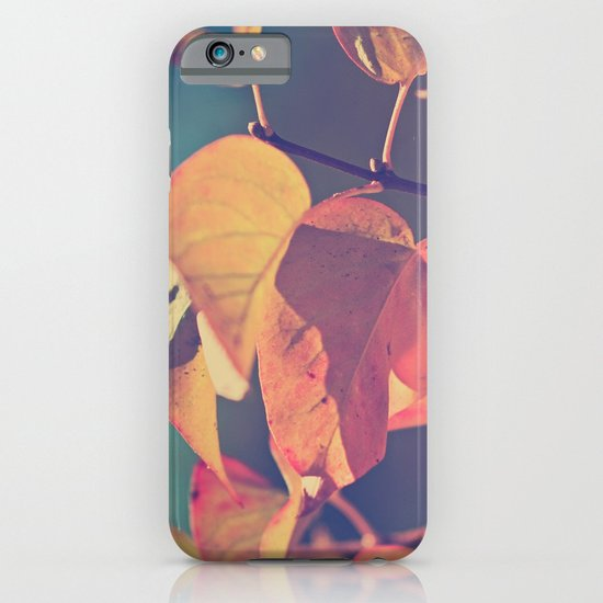 Color of the Leaves iPhone & iPod Case