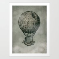 monster Art Prints featuring Dark Voyage by Eric Fan