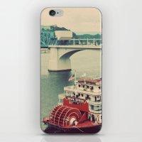The Delta Queen iPhone & iPod Skin