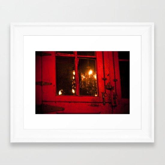 Enigmatic Framed Art Print