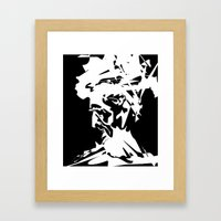 An Old Man Framed Art Print