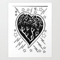 Love Muscle.. Art Print