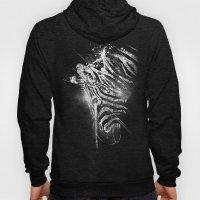 Zebra Mood - White Hoody