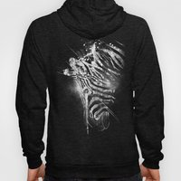 Zebra Mood - White Hoody