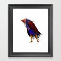 Pájaro Framed Art Print