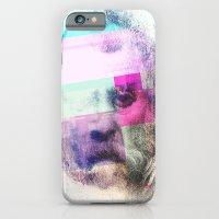 Glitch-face iPhone 6 Slim Case