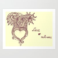 Love Of Nature 2.0 Art Print
