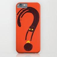 Curiosity Exploded the Cat iPhone 6 Slim Case