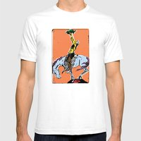 Spirit Rider Mens Fitted Tee White SMALL