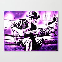 Rock N' Roll Gypsy Canvas Print