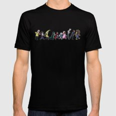 Epidemiology SMALL Black Mens Fitted Tee