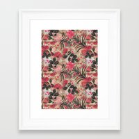 Botanical Sketchbook Framed Art Print