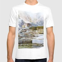 Yellowstone Hot Springs … Mens Fitted Tee White SMALL