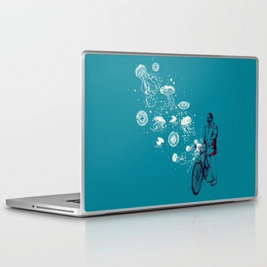 Journey in Blue Laptop & iPad Skin