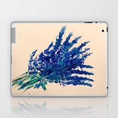 Fresh Cut Lavender Watercolors On Paper Edit Laptop & iPad Skin