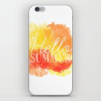 Hello Summer; iPhone & iPod Skin