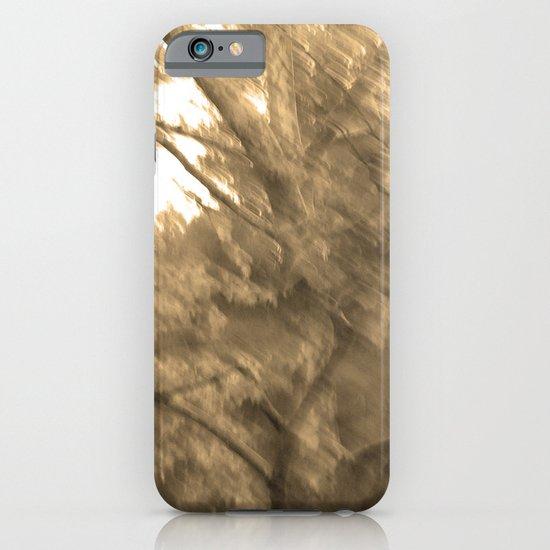 Treeage I - Sepia iPhone & iPod Case