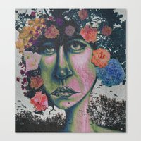 Nature In Glitter Lipsti… Canvas Print