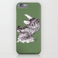 iPhone & iPod Case featuring Reginald Rhinoceros by Ursula Rodgers