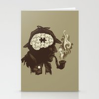Puzzle Solved Stationery Cards