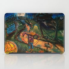 At the stroke of Halloween iPad Case