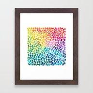 Rain 11 Framed Art Print