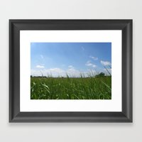 Earth and Sky Framed Art Print
