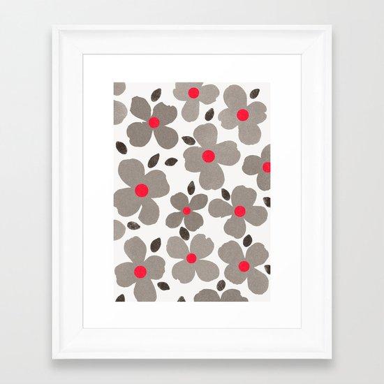 dogwood 10 Framed Art Print