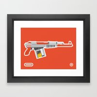 N-16 Sub Automatic Assault Light Gun Framed Art Print