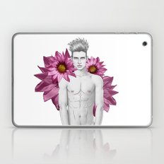 Boy & Flowers Laptop & iPad Skin
