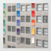 new america office one Canvas Print