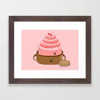 How Pancake Started Framed Art Print