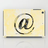 At Sign {@} Series - Baskerville Typeface iPad Case
