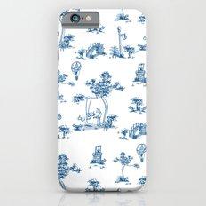 Blue Toile Unicorn Slim Case iPhone 6s